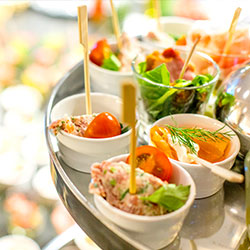 Finger Food - Veranstaltungsanfrage