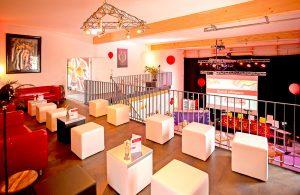 Gemütlich - Die Lounge